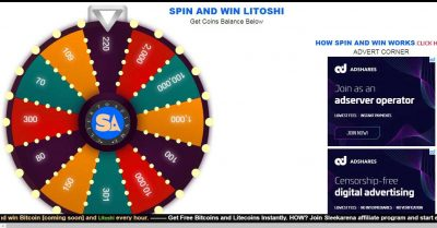 sleekarena-spin-and-win free litecoin